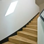 Treppenbau aus Holz
