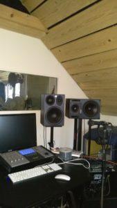 Raumakustik Optimierung Studio 02
